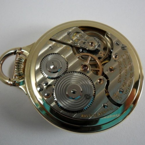Hamilton Grade 992E Pocket Watch Image