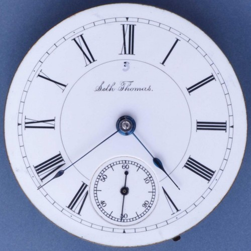 Seth Thomas Grade 34 Pocket Watch Image