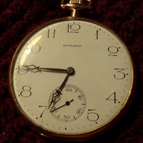 E. Howard Watch Co. (Keystone) Grade Series 8 Pocket Watch Image