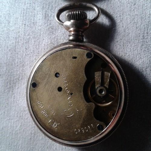New England Watch Co. Grade  Pocket Watch Image