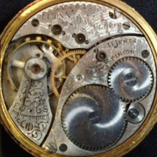 Elgin Grade 281 Pocket Watch Image