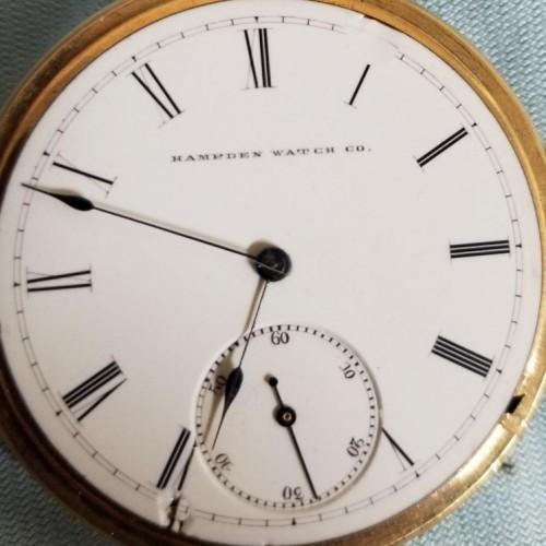 New York Springfield Watch Co. Grade E.W. Bond Pocket Watch Image