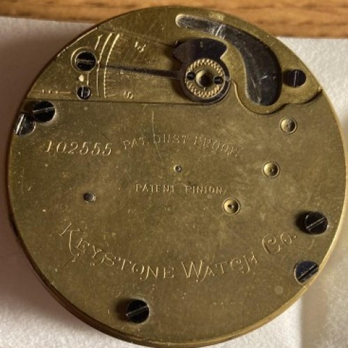 Image of Keystone Standard Watch Co.  #102555 Movement