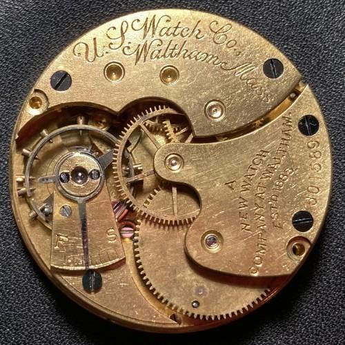 U.S. Watch Co. (Waltham, Mass) Grade 66 Pocket Watch Image