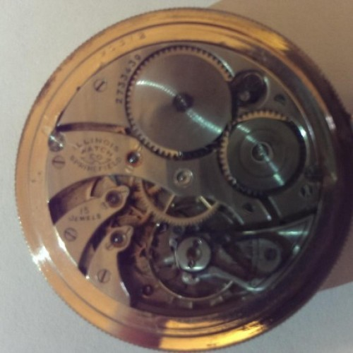 Illinois Grade 403 Pocket Watch Image