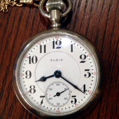 Elgin Grade 385 Pocket Watch Image