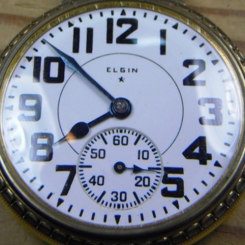 Elgin Grade 506 Pocket Watch Image