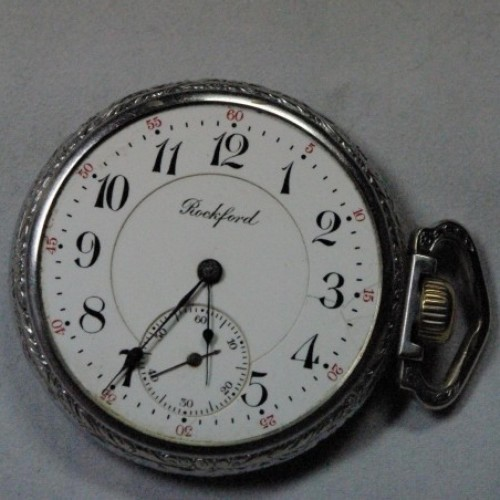 Rockford Grade 586 Pocket Watch Image