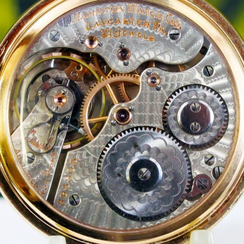Hamilton Grade 991 Pocket Watch Image