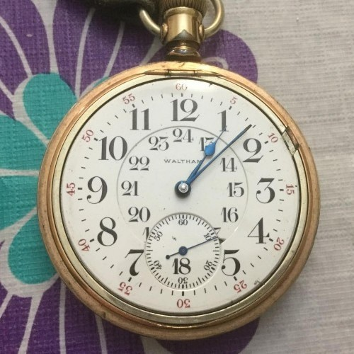 Waltham Grade Vanguard Pocket Watch Image
