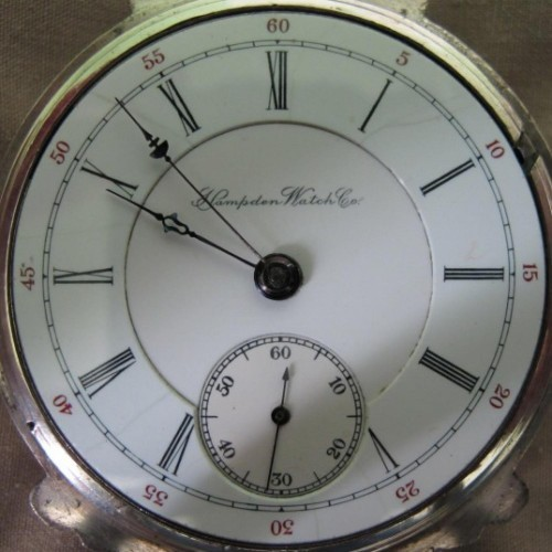 Hampden Grade No. 63 Pocket Watch Image