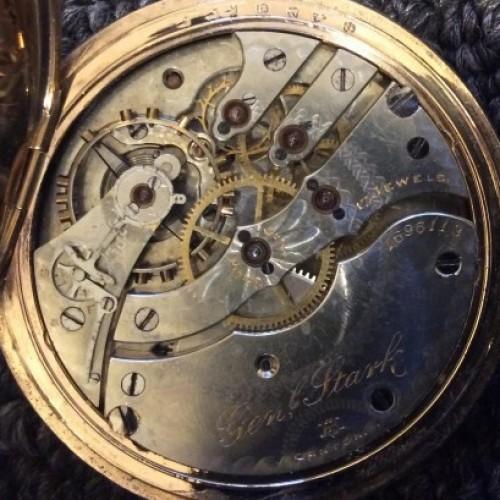 Hampden Grade Gen'l Stark Pocket Watch Image