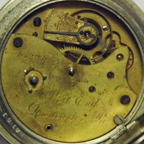 Lancaster Watch Co. Grade West End Pocket Watch Image