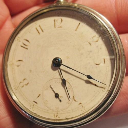 New York Standard Watch Co. Grade Unknown Pocket Watch Image