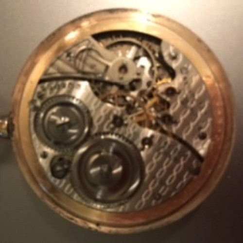 Illinois Grade 255 Pocket Watch Image