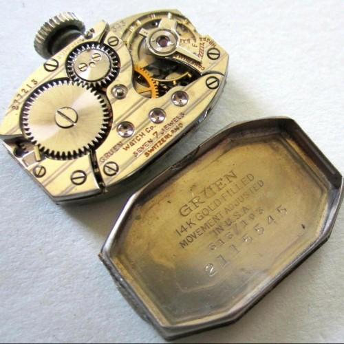Gruen Watch Co. Grade Unknown Pocket Watch Image