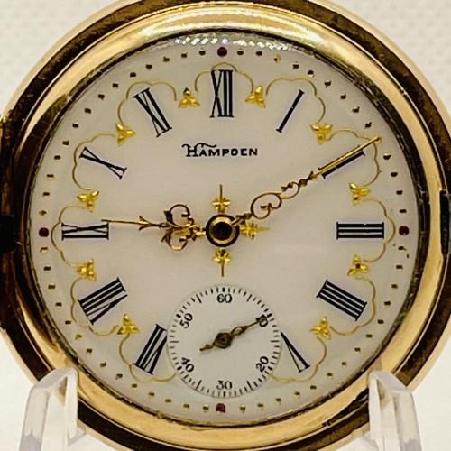 Hampden Grade No. 220 Pocket Watch Image