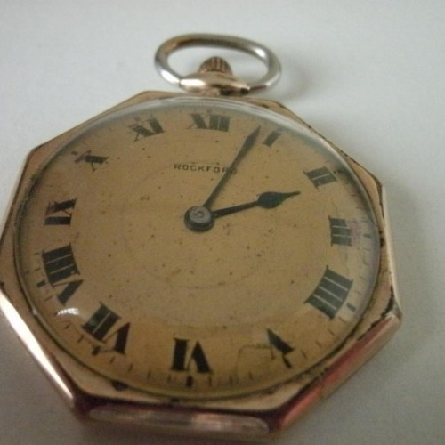 Rockford Grade 184 Pocket Watch Image