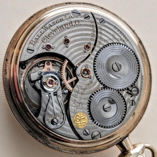 Image of Ball - Waltham Official Standard #B250443 Movement