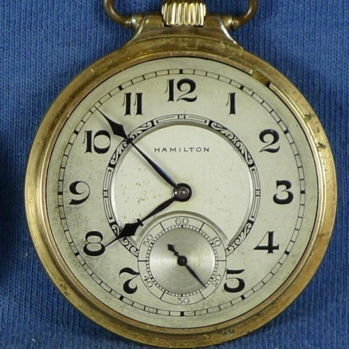 Hamilton Pocket Watch Image Gallery   Pocket Watch Database