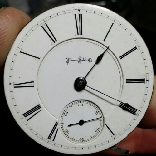 Illinois Grade 104 Pocket Watch Image