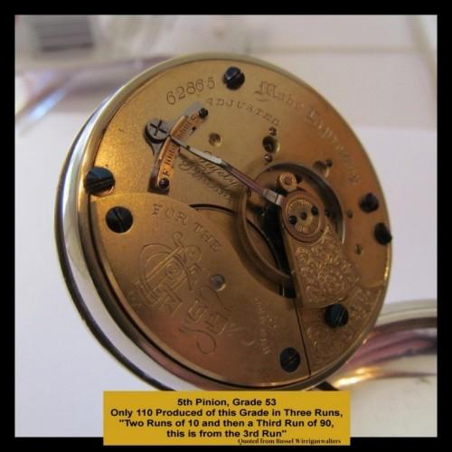 Aurora Watch Co. Grade 53 Pocket Watch Image