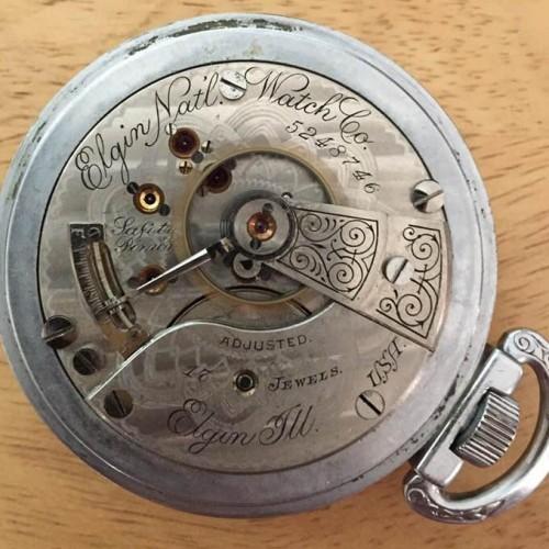 Elgin Grade 124 Pocket Watch