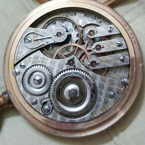 Illinois Grade 805 Pocket Watch Image