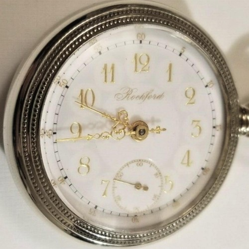 Rockford Grade 825 Pocket Watch Image