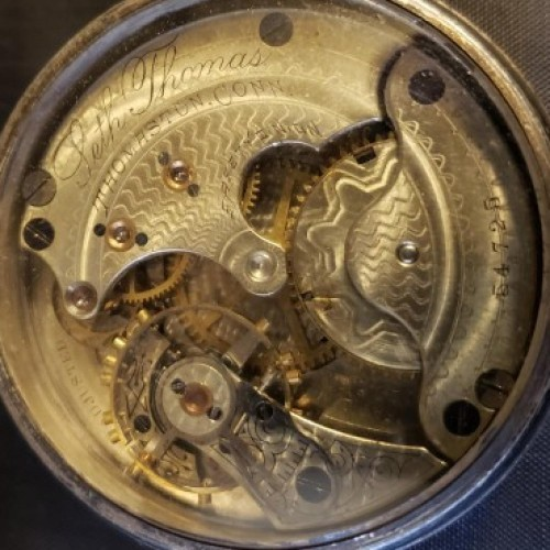 Seth Thomas Grade 171 Pocket Watch Image