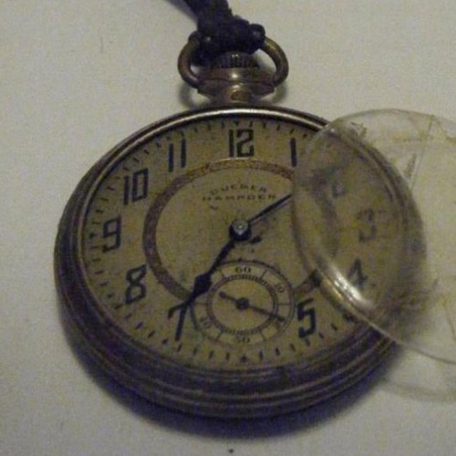Hampden Grade No. 108 Pocket Watch Image
