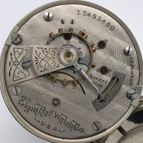 Elgin Grade 316 Pocket Watch Image