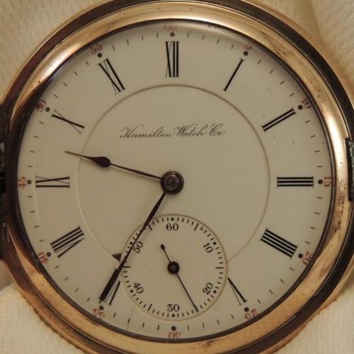Hamilton Grade 967 Pocket Watch Image