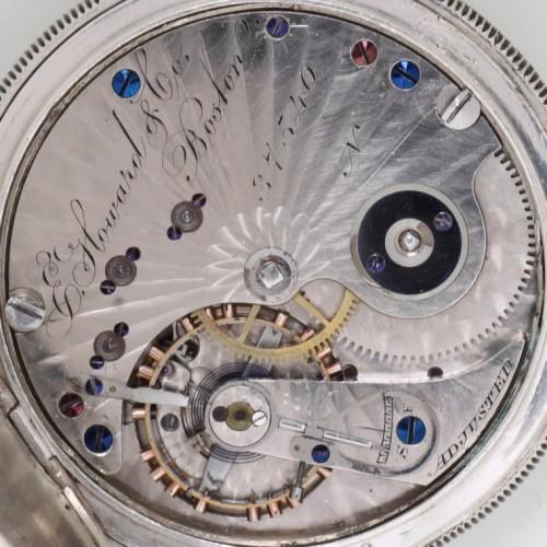 E. Howard & Co. Grade Adjusted (no animal symbol) Pocket Watch Image