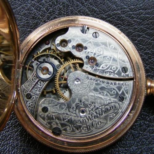 Waltham Grade No. 65 Pocket Watch Image