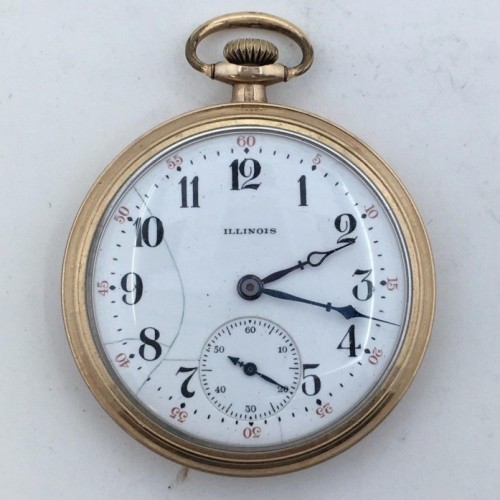 Illinois Grade 445 Pocket Watch Image