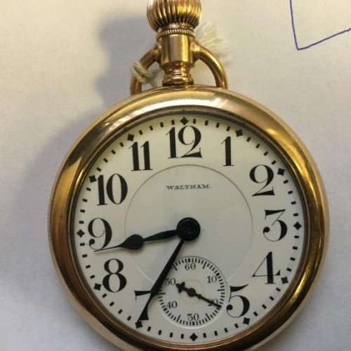 Waltham Grade No. 645 Pocket Watch Image