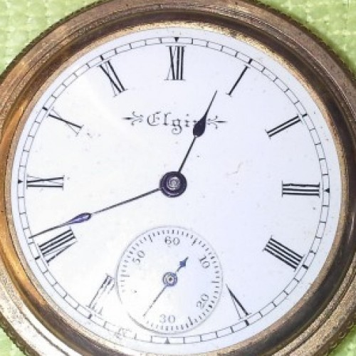 Elgin Grade 222 Pocket Watch Image