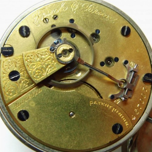 Hampden Grade No. 34 Pocket Watch Image