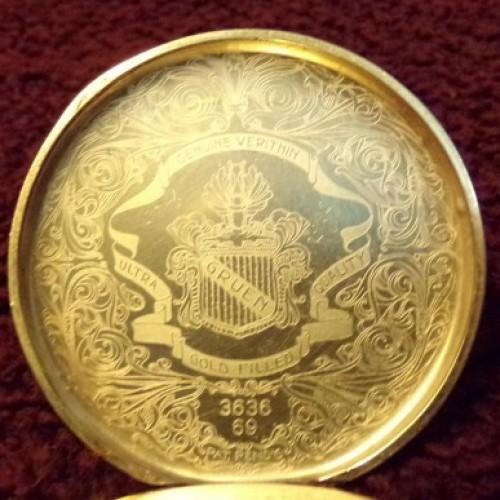 Gruen Watch Co. Grade Verithin Pocket Watch Image