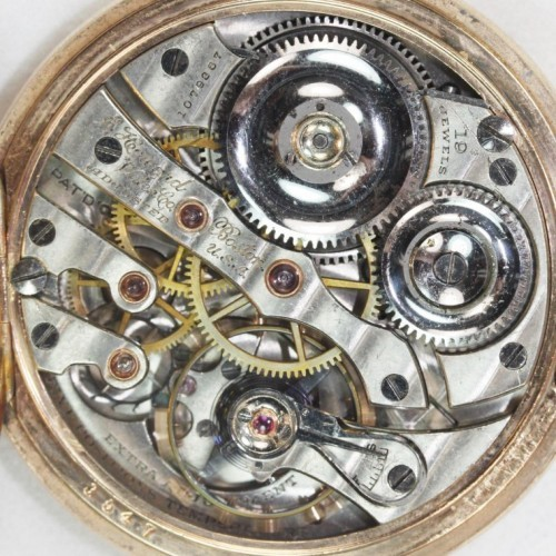 Image of E. Howard Watch Co. (Keystone) Series 5 #1076867 Movement