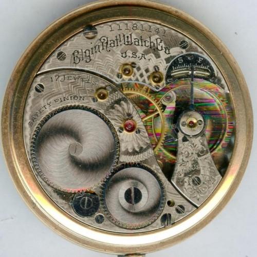 Elgin Grade 322 Pocket Watch