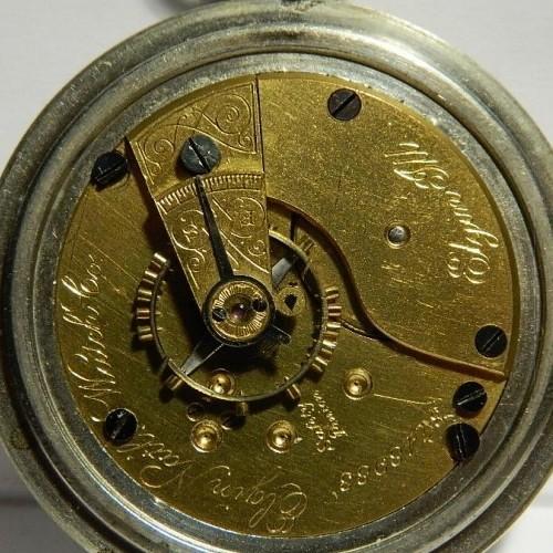 Elgin Grade 73 Pocket Watch