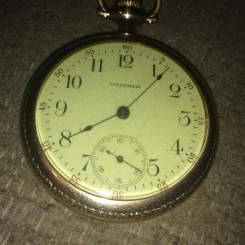 Waltham Grade Traveler Pocket Watch Image