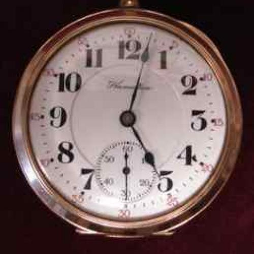 Hamilton Grade 972 Pocket Watch Image