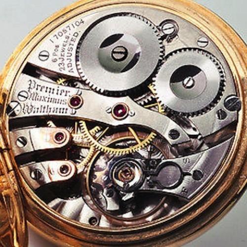Waltham Grade Premier Maximus Pocket Watch Image