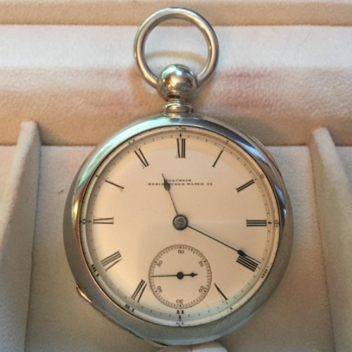 Illinois Grade Bates Pocket Watch Image