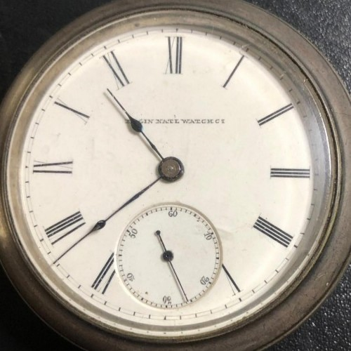 Elgin Grade 6 Pocket Watch Image
