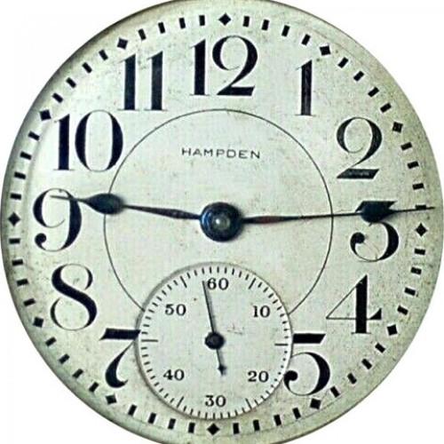 Hampden Grade John Hancock Pocket Watch