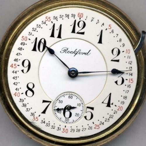 Rockford Grade  Pocket Watch Image